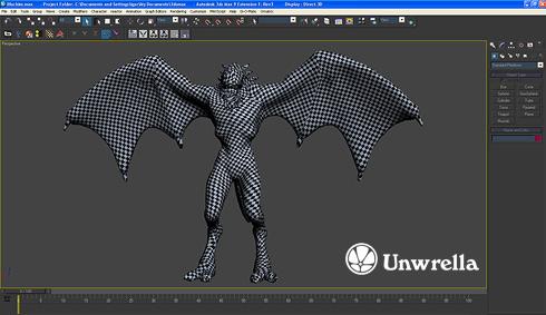 Unwrella - the new Texture Unwrapping Plug-in for 3D Studio Max! Unwrella_main