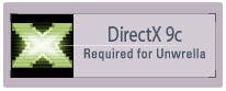 download DirectX 9c - Requirement!