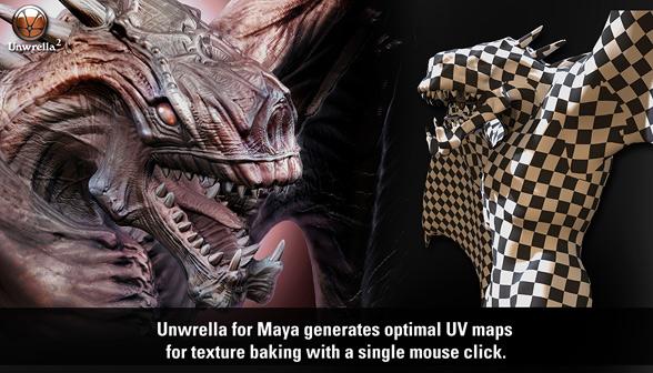 Unwrella Maya screenshot