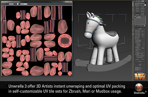 Unwrella 3 UV Tile new features