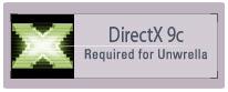 download DirectX 9c - Requirement!