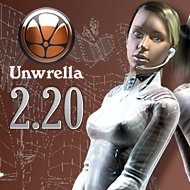 Unwrella 2.20 (3ds Max 2013 and Maya 2013 support)