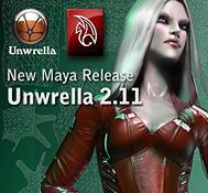 Unwrella 2.11 – Maya release