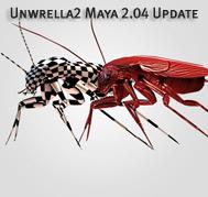 Unwrella2 Maya 2.04 Update